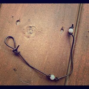 Cute pearl anklet/bracelet🦋🌊